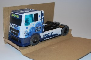 Truck C3610 in cardboard surround