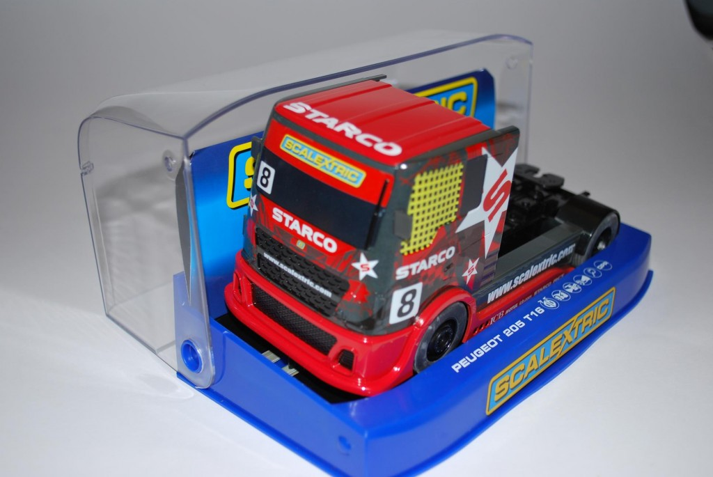 Truck in Low Floor Display Case