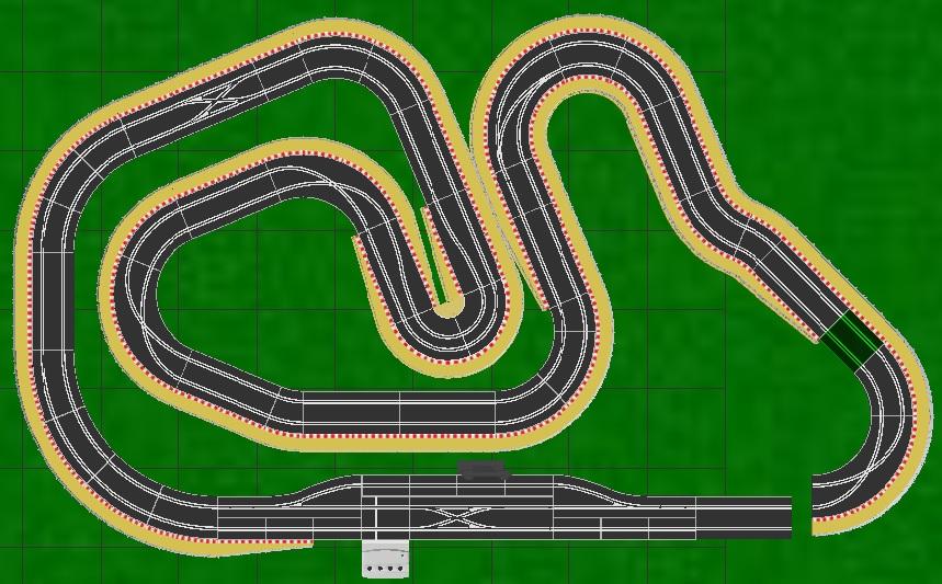 Scalextric Track 18E